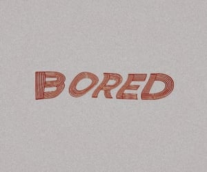 beige, bored, and red image