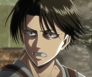 snk and levi ackerman image