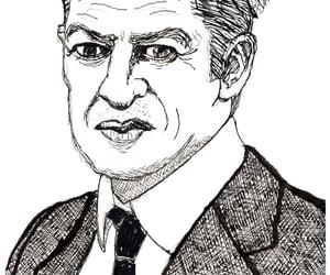 actor, cartoon, and portrait image
