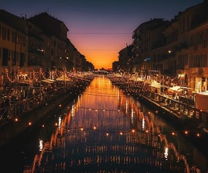 italy, milan, and light image