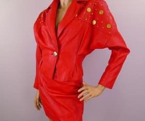 etsy, studded jacket, and vintage 1980s image