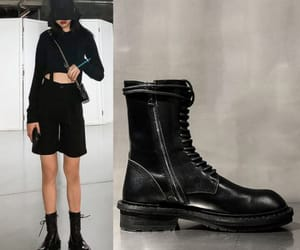 ankle boots, fall, and round toe image