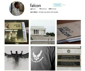 aesthetic, endgame, and the falcon image