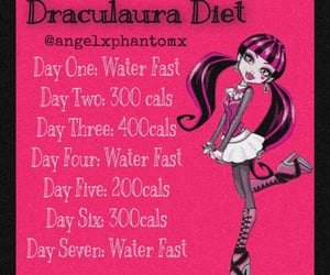 ana, diet, and monster high image