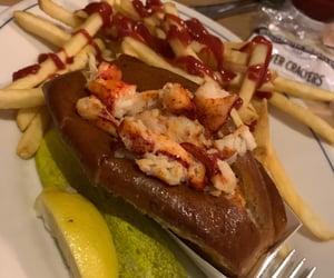 food, lobster, and seafood image