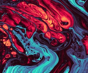 abstract, liquid, and art image