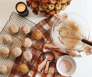 brown, desserts, and fall image