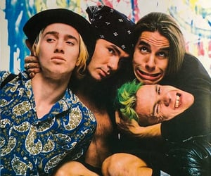 Red Hot Chili Peppers, 1989.