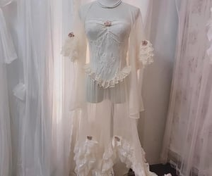fairy, nightgown, and angel image