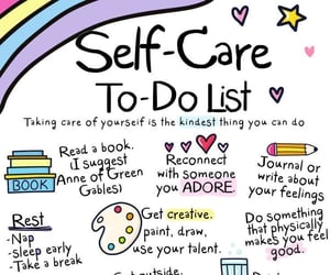 self love, self care, and daily reminder image