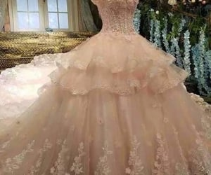 dress, gown, and princess dress image