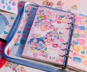 diary, journal, and scrapbooking image