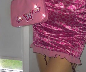 pink, fashion, and y2k image