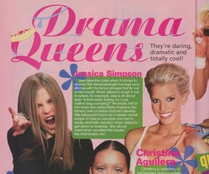 2000s, Avril Lavigne, and christina aguilera image