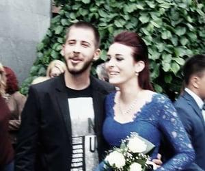 celebrate, couple, and dress image