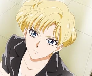 sailor moon, sailor uranus, and haruka image
