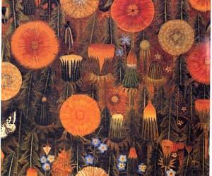 art, dandelion, and flowers image