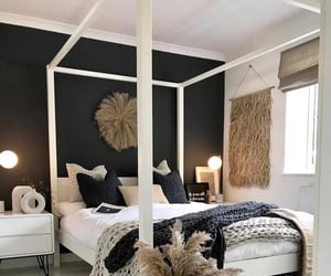 Blanc, cocooning, and room image
