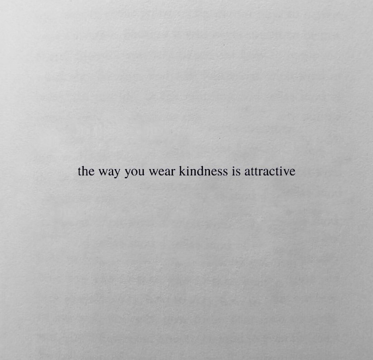 attractive, feelings, and kindness image