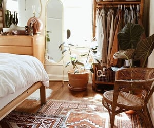 bedroom, style, and boho image