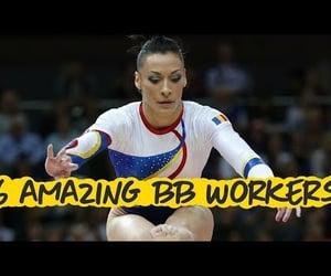 gymnastics, sports, and artistic gymnastics image
