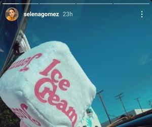 ice cream, selena gomez, and blackpink image