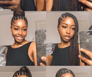 braids, girls, and pretty image