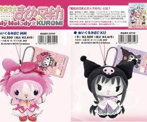 kuromi, my melody, and sanrio image