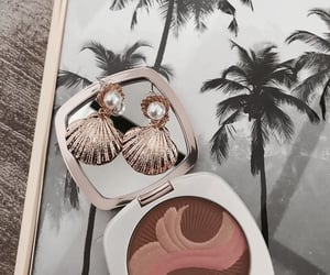 makeup, jewelry, and earrings image