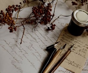 diary, quill, and aesthetics image