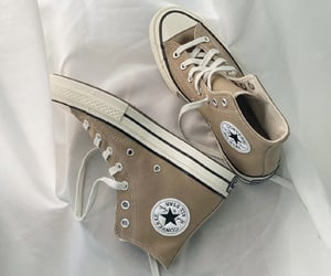 converse, sneakers, and brown image