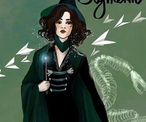 art, harry potter, slytherin and hogwart