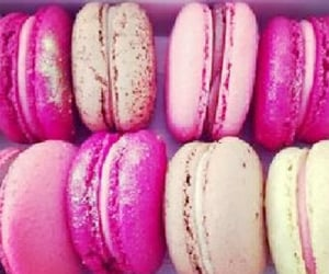 Cookies, dessert, and pink image