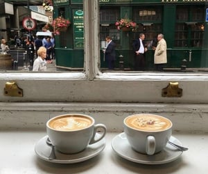 coffee, cafe, and london image
