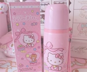 hello kitty, aesthetic, and pink image