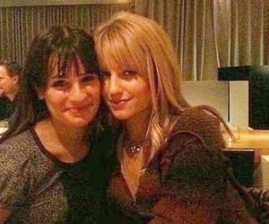 lea michelle and dianna agron image