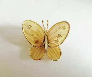 1950s, butterfly jewelry, and vintage pin brooch image
