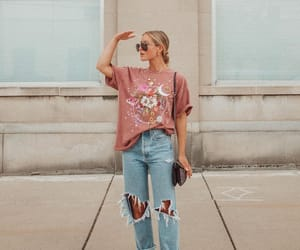 fashion blogger, t-shirt, and lisa prang image