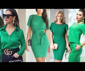 fashion, looks, and verde image