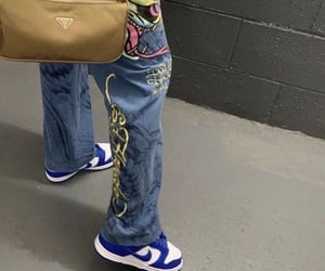 90s, dunks, and outfit image