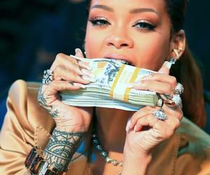 rihanna, money, and riri image