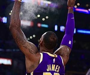 lakers, nba lockscreen, and LeBron James image