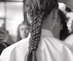 braid, hair, and nice image