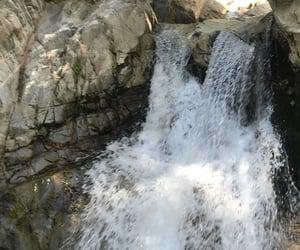 adventure, waterfall, and hike image