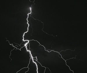 lighting, stormy weather, and nature image