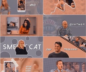 aesthetic, chandler bing, and phoebe buffay image