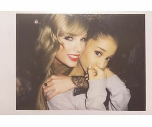 ariana grande and Taylor Swift image