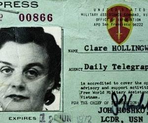 journalist, correspondent, and clarehollingsworth image
