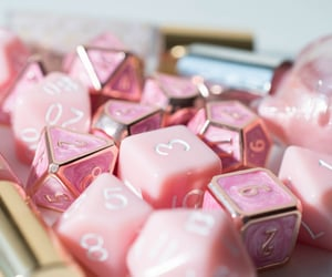 aesthetic, dice, and die image