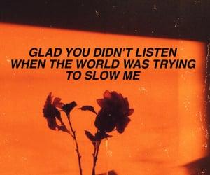 aesthetic, calm, and Lyrics image